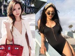 Thân hình nóng bỏng 'vạn người thèm' của hai nàng tiểu thư mới nổi trong hội con nhà giàu Việt