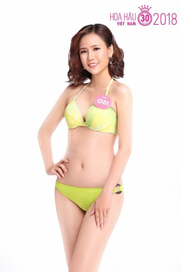 Trọn bộ ảnh bikini nóng bỏng của Top 30 Chung khảo phía Nam HHVN 1