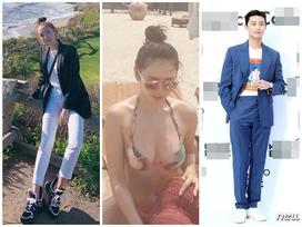 Street style sao Hàn: Son Ye Jin diện bikini nóng bỏng - Park Seo Joon bảnh bao hạ gục fans