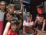 Không còn gia đình 3 người, Cường Đô La vắng mặt trong sinh nhật 9 tuổi của con trai Subeo