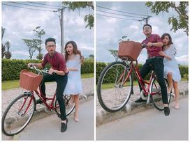 Lo sợ khi ngồi sau xe đạp Hứa Minh Đạt, Midu cầu cứu Lâm Vĩ Dạ 'hốt' ông xã về gấp