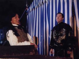 Chân Tử Đan tỉ thí Thành Long trong 'Diệp Vấn 4'