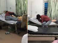 Ảnh HOT trong tuần: Âu yếm ngay trên giường bệnh viện, cặp tình nhân vô duyên 'hết thuốc chữa'