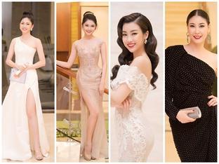 Hoa hậu Việt Nam2018: Dàn mỹ nhân lộng lẫy đổ bộ thảm đỏ đêm chung khảo miền Nam