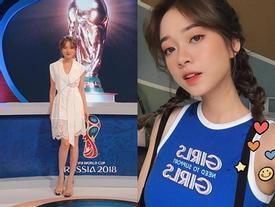 'Hot girl mắng khách' gây chú ý khi bình luận World Cup