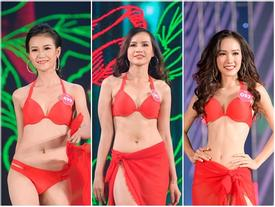 Khoe dáng với bikini, thí sinh Hoa hậu Việt Nam 2018 vô tình để lộ hình thể hạn chế