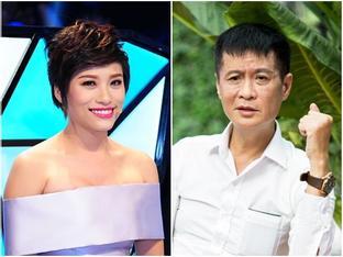 Đạo diễn Lê Hoàng khiếp vía nhìn Trần Ly Ly cười khinh bỉ chai Vodka và rồi uống nó như nước lọc