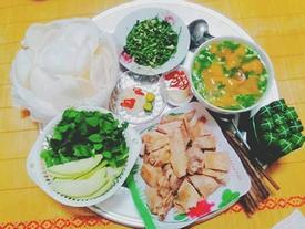 Con dâu Thái Nguyên đảm đang chăm mẹ chồng từng bữa cơm khiến bà không ngớt lời khen ngon