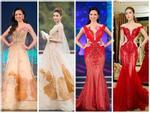 Chinh chiến 'Hoa hậu Việt Nam 2018', dàn thí sinh thi nhau diện lại váy của đàn chị