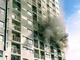 Cháy chung cư ở Sài Gòn, hàng trăm cư dân tháo chạy