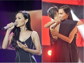Không để lại ấn tượng, Hoa hậu chuyển giới đầu tiên của Việt Nam dừng chân tại 'The Voice 2018'