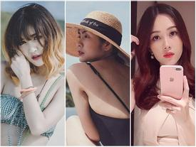 Gái ngoan showbiz Việt nhận 'bão like' nhờ ảnh nõn nà