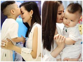 Con trai Tâm Tít nói tiếng Anh như 'gió' đánh dấu sinh nhật tròn 3 tuổi