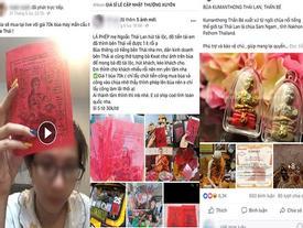 Bùa ngải Thái rao bán tràn lan trên Facebook