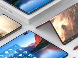 Chip Snapdragon 1000 xuất hiện trên Surface Phone màn hình gập