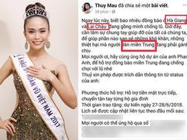 CHUYỆN THẬT TƯỞNG BỊA: Á hậu Hoàn vũ Mâu Thủy bị nghi ngờ trình độ văn hóa khi khẳng định Hà Giang - Lai Châu thuộc miền Trung