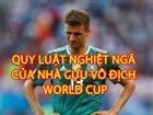 Quy luật 'nghiệt ngã' của các nhà vô địch World Cup