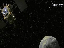 Tàu vũ trụ Nhật Bản tiếp cận được tiểu hành tinh có dấu hiệu của sự sống