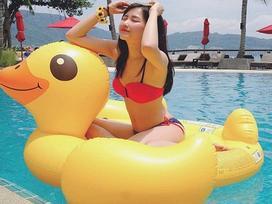 'Bỏng mắt' với những bức hình khoe dáng cùng bikini của các hotgirl Việt