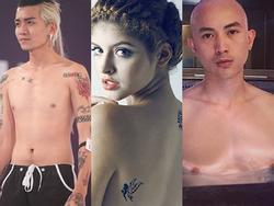 Bất chấp đớn đau, loạt hot girl - hot boy Việt sở hữu cả bộ sưu tập hình xăm độc dị trên cơ thể