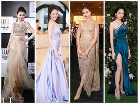Dàn mỹ nhân Việt đẹp 'bất phân thắng bại' trên thảm đỏ tuần qua