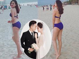 Top 10 'Hoa hậu Việt Nam 2016' Trần Tố Như khoe vẻ đẹp sexy hiếm thấy sau kết hôn cùng hot boy cảnh sát