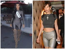 Kim Kardashian lăng xê mốt quần đạp xe kỳ lạ