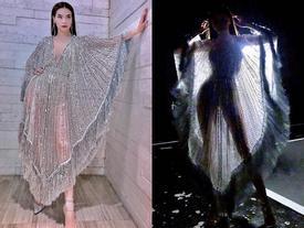 Bức ảnh HOT NHẤT trong ngày: Chiếc váy xuyên thấu 'mặc như không' của Hồ Ngọc Hà