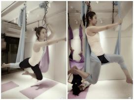 Hóa ra yoga dây mới là liều thuốc thần thánh giúp 'mẹ bỉm sữa' Lâm Tâm Như tìm lại thanh xuân ở tuổi 42