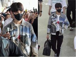 Fan tới sân bay đón quá đông khiến Kim Samuel lên nhầm ô tô