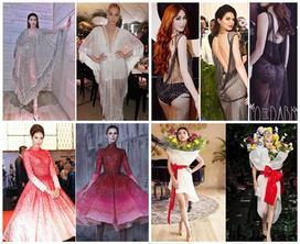 Những chiếc váy nhái khiến dàn mỹ nhân hạng A showbiz Việt đang nổi tiếng trở nên tai tiếng