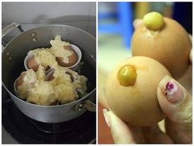 Trổ tài làm trứng nướng nhưng thành phẩm lại như 'núi lửa phun trào', dân mạng khóc thét hết cả muốn ăn