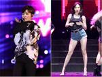 Fan Việt gào thét khi thấy Hyuna bưng ngực, Kim Samuel lột áo