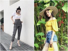 Chiếc áo 2 trong 1 giúp sao Việt khoe vẻ sexy hết nấc mà không ai 'ném đá'