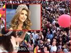 Khoảnh khắc lịch sử: Biển người Tây Ban Nha xuống phố ăn mừng người chuyển giới lên ngôi hoa hậu quốc gia