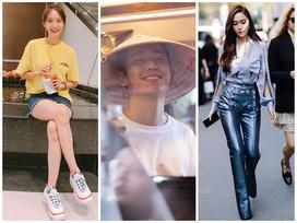 Street style sao Hàn: Jessica sang chảnh khí chất - mỹ nam Jung Hae In đội nón lá 'đốn tim' fans
