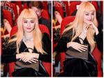 Hạ Vi lần đầu tái xuất sự kiện với mái tóc vàng chóe xinh như 'búp bê sống'