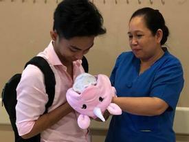 Cận cảnh 'tiểu công chúa' dễ thương nhà Khánh Thi tại phòng chăm sóc đặc biệt vì sinh non trước 3 tuần