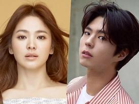 Được khuyên ở nhà sinh con nhưng cuối cùng Song Hye Kyo vẫn quyết tâm đóng cặp với đàn em Park Bo Gum