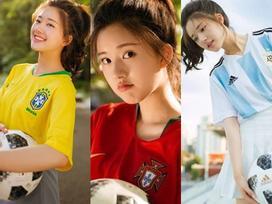 ĐẸP LÀ CÓ QUYỀN: Khoác áo đội tuyển nào là đội đó xách vali về nước nhưng cô gái này vẫn được yêu hết nấc