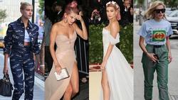 Phong cách 'chất chơi ối người thèm' của Hailey Baldwin - cô gái vừa được Justin Bieber cầu hôn