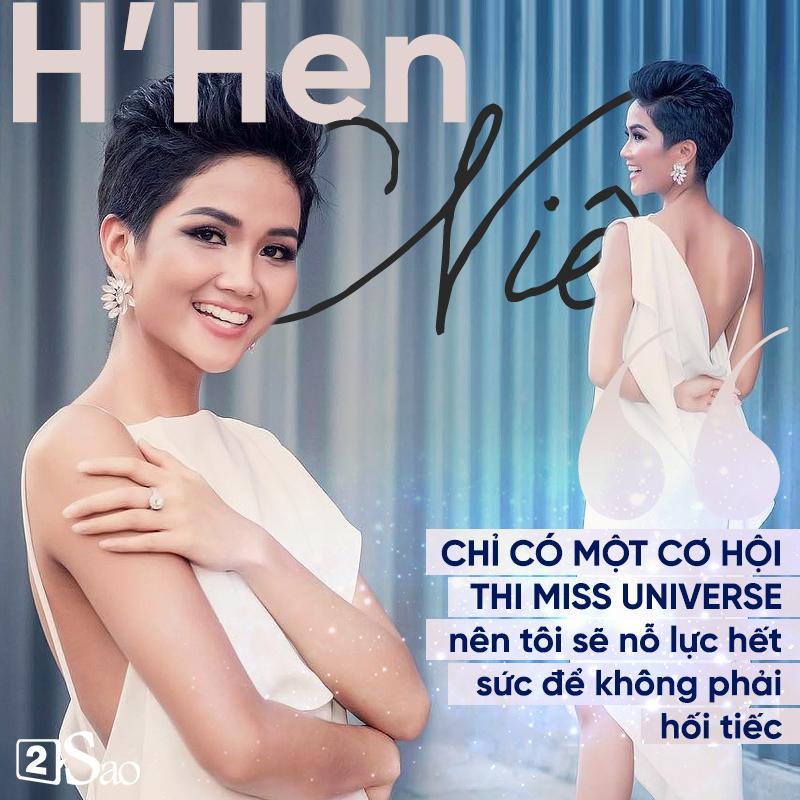Đã sẵn sàng cho Miss Universe, Hoa hậu H'Hen Niê: 'Tôi muốn là đại diện thiện chiến nhất của Việt Nam'
