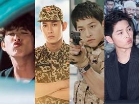 Khoan bàn đến diễn xuất, chỉ xét riêng về độ manly thì Song Luân thực sự 'ăn đứt' Song Joong Ki trong cùng 'Hậu duệ mặt trời'