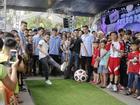 Quang Hải đại náo Cúp bóng đá xứ sở kem