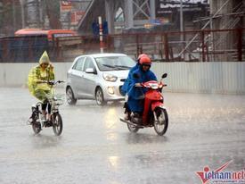 Dự báo thời tiết 11/7: Xuất hiện vùng áp thấp trên Biển Đông