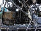 Hiện trường vụ cháy xe khách khiến 3 người thương vong ở Hà Nội