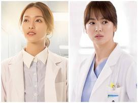Vì sức ép của 'Hậu duệ mặt trời' bản Việt quá lớn, Khả Ngân bị bóc mẽ nói dối vai diễn gốc của Song Hye Kyo
