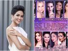 H'Hen Niê đang đứng ở đâu trên bảng xếp hạng khi Miss Universe 2018 hội tụ dàn đối thủ quá mạnh?