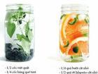 6 công thức nước detox tốt cho sức khỏe và nhan sắc