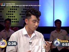 'Đổ gục' trước hot boy THPT Trần Phú: Vừa đẹp trai, vừa tranh luận cực hay